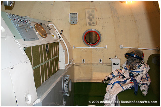 Habitation Module Of Soyuz Spacecraft