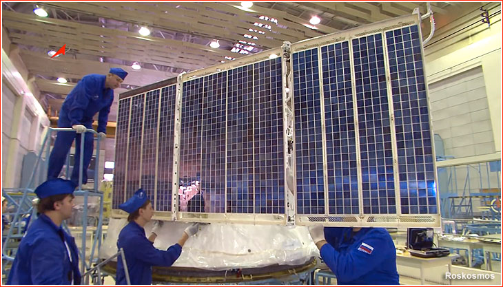 Power Supply System Sep For Soyuz Ms Spacecraft