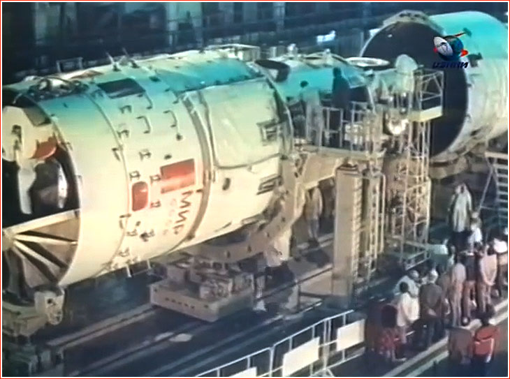 Core Module Of The Mir Space Station 17ks