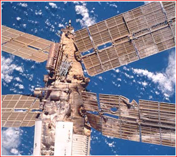 russian mir space station crash - photo #3